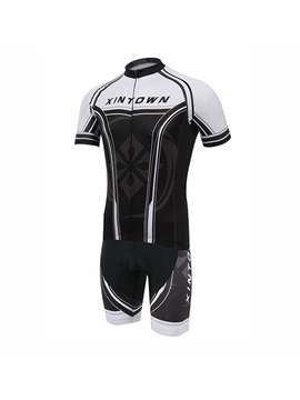 Summer Fast Drying Cycle Jersey And Bib Shorts
