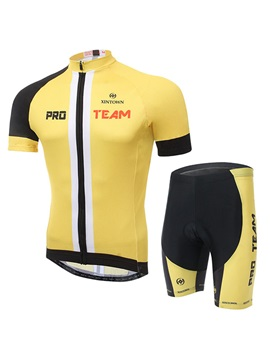 Multi Color Basic Cycling Jersey And Shorts