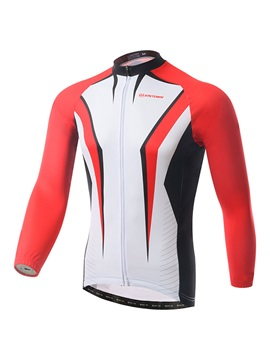 Full Zip Long Sleeve Cycle Jersey
