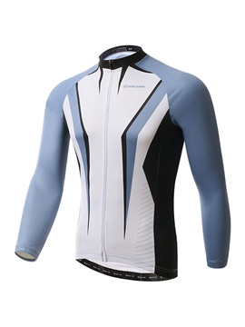 Polyester Rear Pockets Cycle Jersey