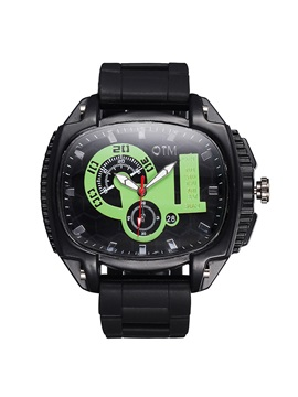 Luminous Rubber Band Men Watch