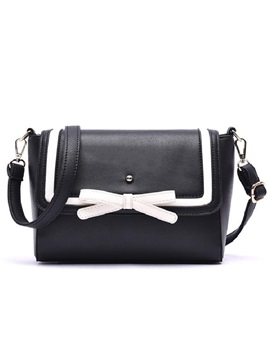 European Style Bowknot Women Shoulder Bag