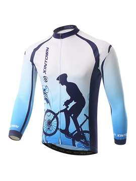 Polyester Spring Full Zip Mens Jersey
