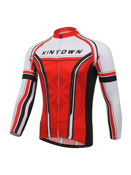 Long Sleeve Rear Pockets Cycle Jersey