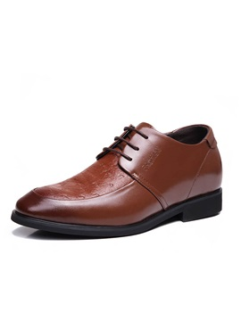 Brush Off Pu Lace Up Dress Shoes