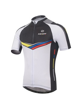 Polyester Mens Fast Drying Cycle Jersey