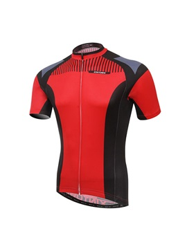Streamlined Fit Full Zip Mens Cycle Jersey