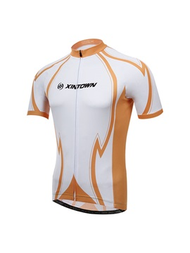 Polyester Multi Color Quick Drying Cycling Jersey