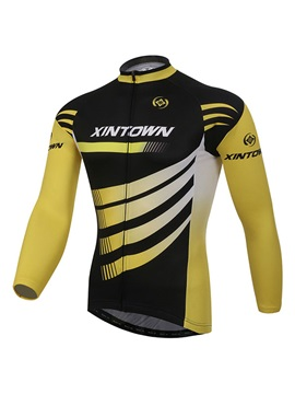 Long Sleeve Fleece Sportswear Cycle Jersey