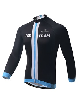 Solid Black Moisture Wicking Mens Jersey