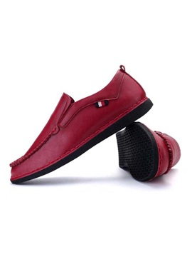 Breathable Thread Slip On Loafers