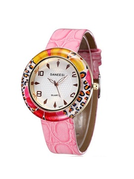 Pu Band Luminous Women Watch