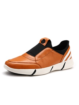 Color Block Round Toe Sneakers