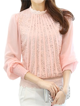 Special Lace Decoration Work Blouse