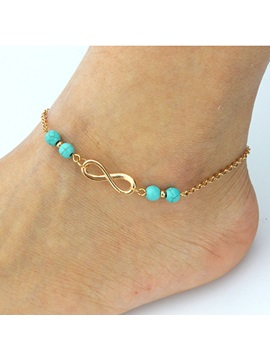 Top Quality Alloy E Plating Women Anklet