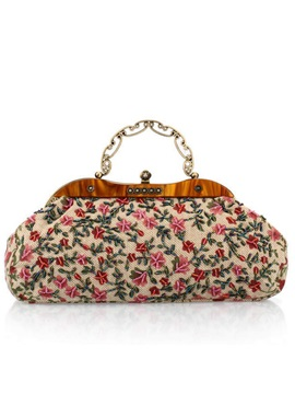 Floral Pattern Women Evening Bag