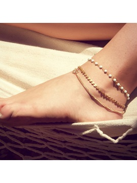 Top Quality E Plating Women Anklet