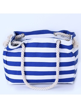 Large Capacity Stripe Women Tote