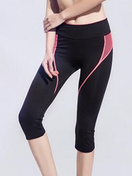 Nylon Wide Waistband Women Running Pant