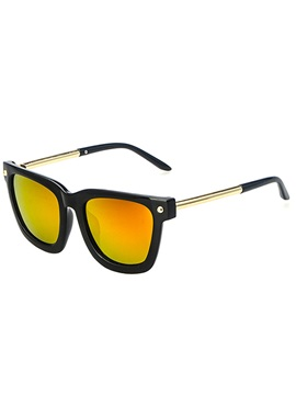 Anti Uv Metal Frame Material Sunglasses
