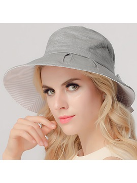 Casual Dome Wide Brim Women Sun Hat