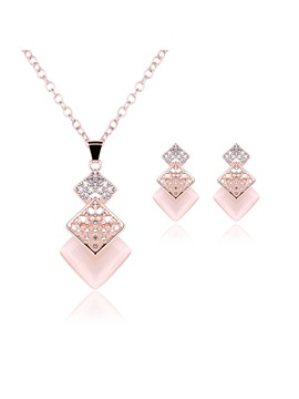European Style Fashion Women Jewelry Set Including Necklace And Earrings