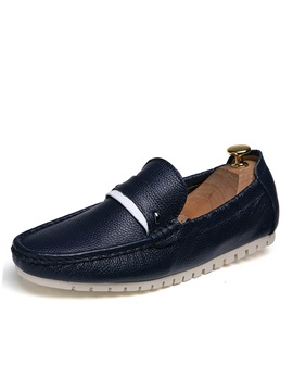 Pu Thread Slip On Driving Shoes