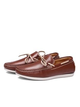 British Pu Slip On Driving Shoes