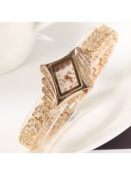 Beautiful Rhinestones Alloy Women Watch