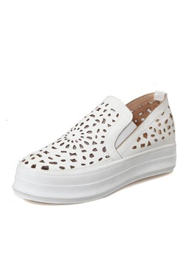 Pu Cut Out Casual Shoes