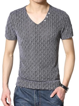 Nets Ventilate Short Sleeve V Neck Mens Tee