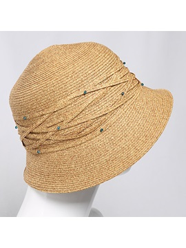 Weave Uv Protection Women Sun Hat