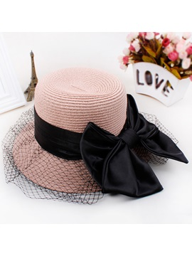 Dome Weave Lace Women Sun Hat