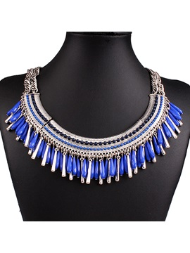 Tassel Alloy Women Necklace