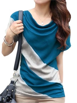 Special Heap Collar Stripe T Shirt