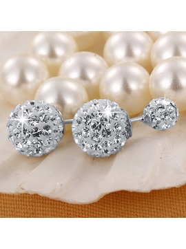 Hot Sale Chic 925 Silver Women Earrings