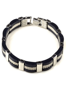 European Style Alloy Men Bracelet