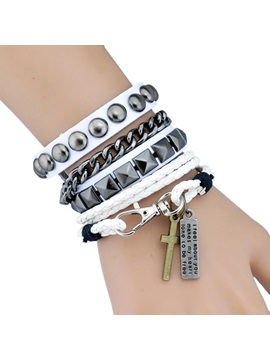 High Quality Rivet Chain Men Bracelet