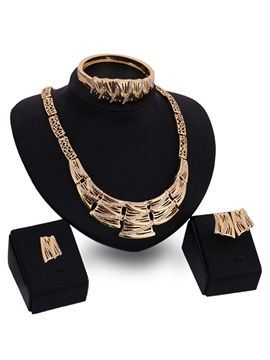 Elegant Rhinestones Women Jewelry Set