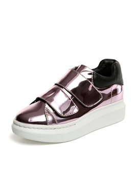 Sequins Velcro Skater Shoes