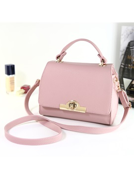 Thread Latch Stylish Women Satchel