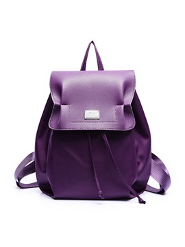 Thread Pu Oxford Backpack