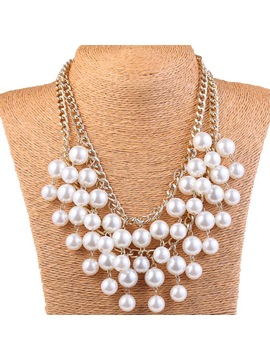 Pearls Multi Layer Women Necklace