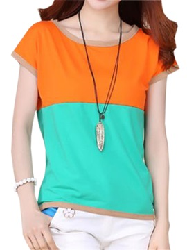 Glamorous Assorted Color Short Sleeve T Shirt