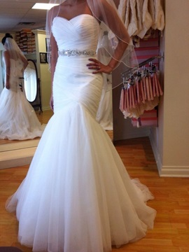 Sweetheart Beading Mermaid Wedding Dress