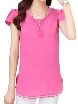 Chic Butterfly Hollow Loose Blouse