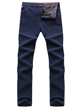 Slim Fit Straight Mens Casual Pencil Pants