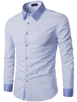 Regular Fit Slimsy Stripe Mens Casual Shirt