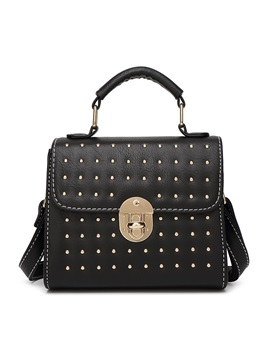 Punk Rivet Decoration Latch Women Satchel