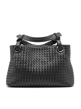 European Style Knitted Women Satchel
